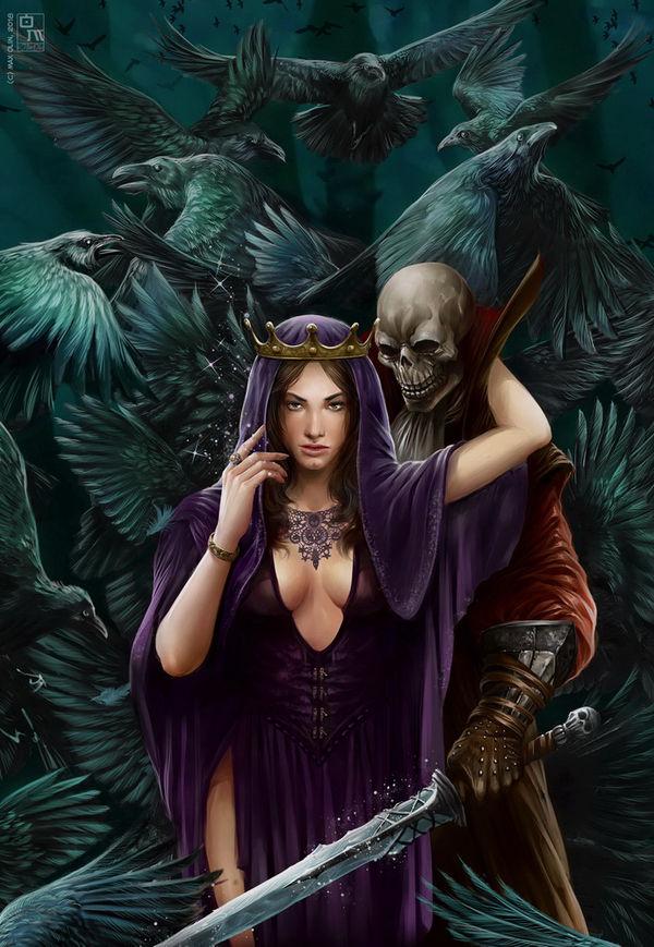 The Black Princess by Dalaukar