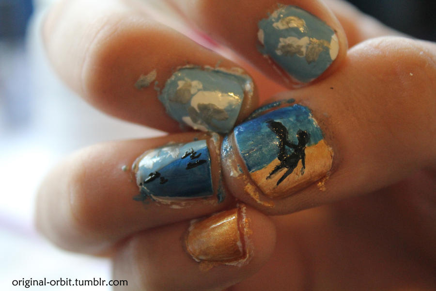 X Men First Class Nail Art By Scittore Strano On Deviantart