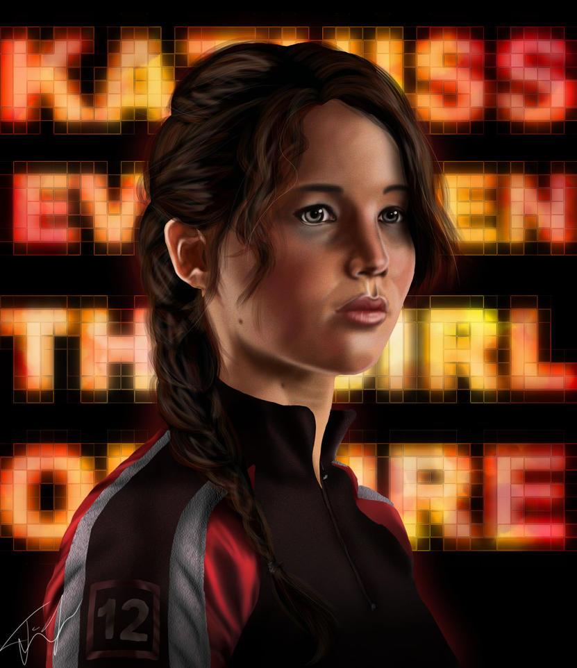 Katniss Everdeen by SilverVanadis