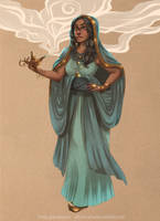 Jasmine by SilverVanadis