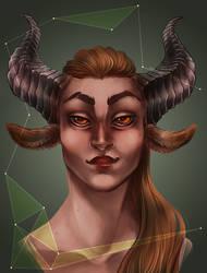 Horns by SilverVanadis