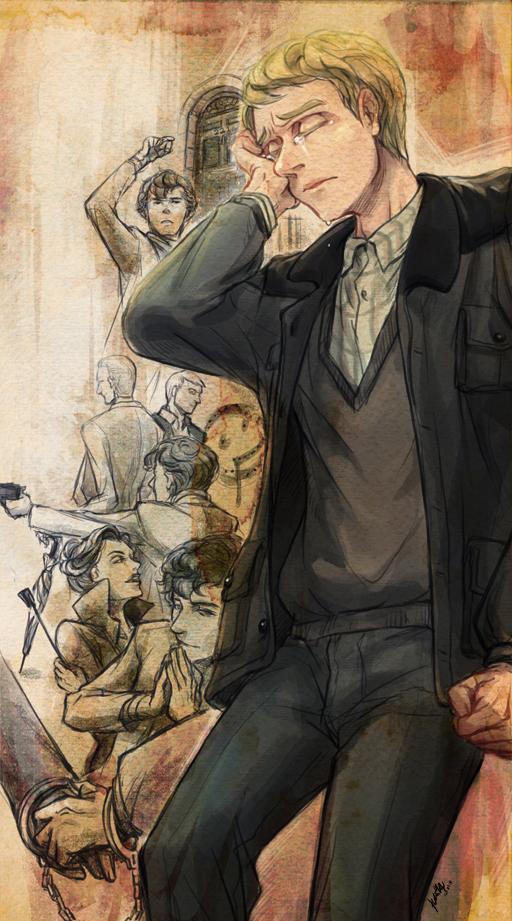 BBC SHERLOCK--John by arashicat