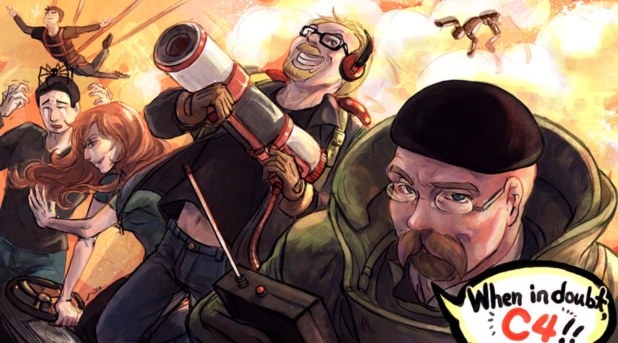 Mythbusters by arashicat on DeviantArt