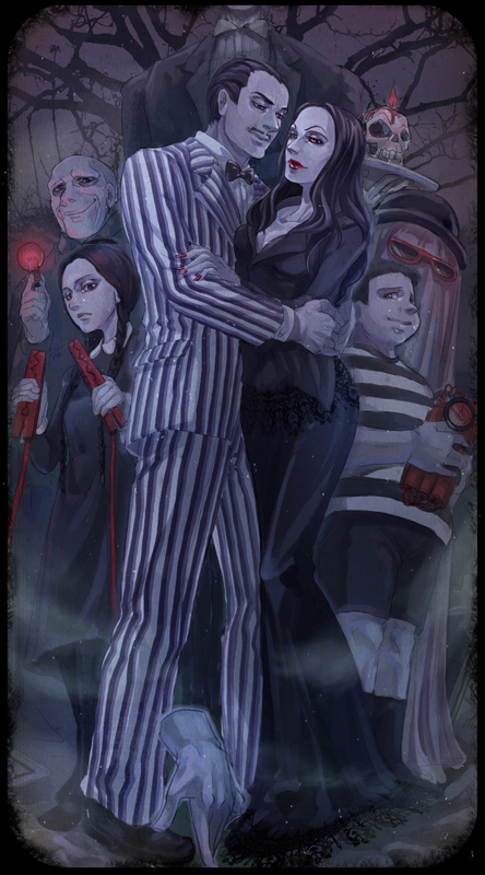 The Addams Family by arashicat