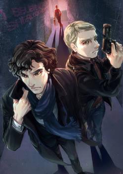 Sherlock and John are one !