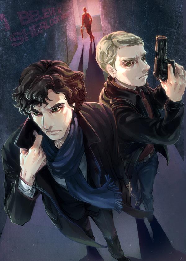 Sherlock and John are one ! by arashicat