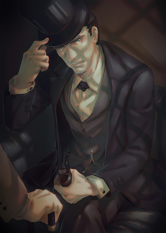 Sherlock the abominable bride by arashicat