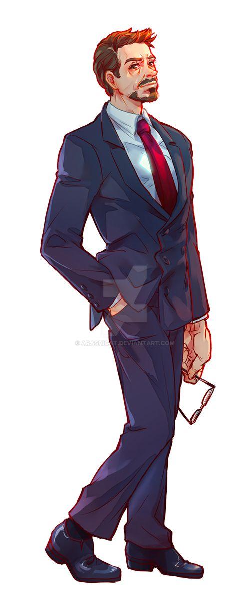 Tony Stark full body