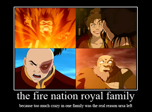 the fire nation royal family by purifyinglight
