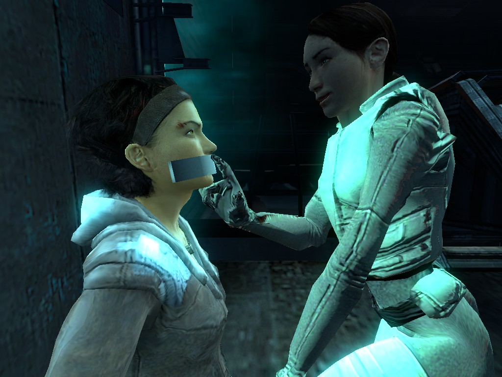 Adversary: Alyx vs Sarah by alyxcaptor