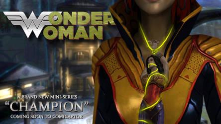 Wonder Woman: Champion by alyxcaptor