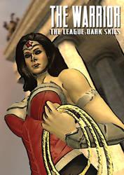 DARK SKIES: WONDER WOMAN by alyxcaptor
