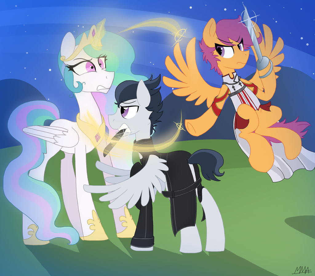 AT: Sword fight by MyMineAwesome