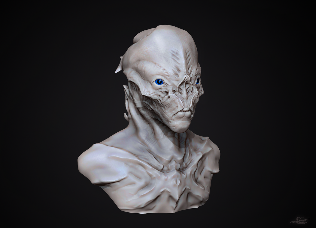 Alien Bust by eXecutex