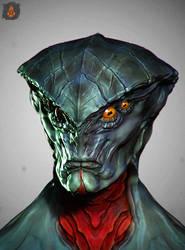 Mass Effect Prothean SpitSculpt by eXecutex