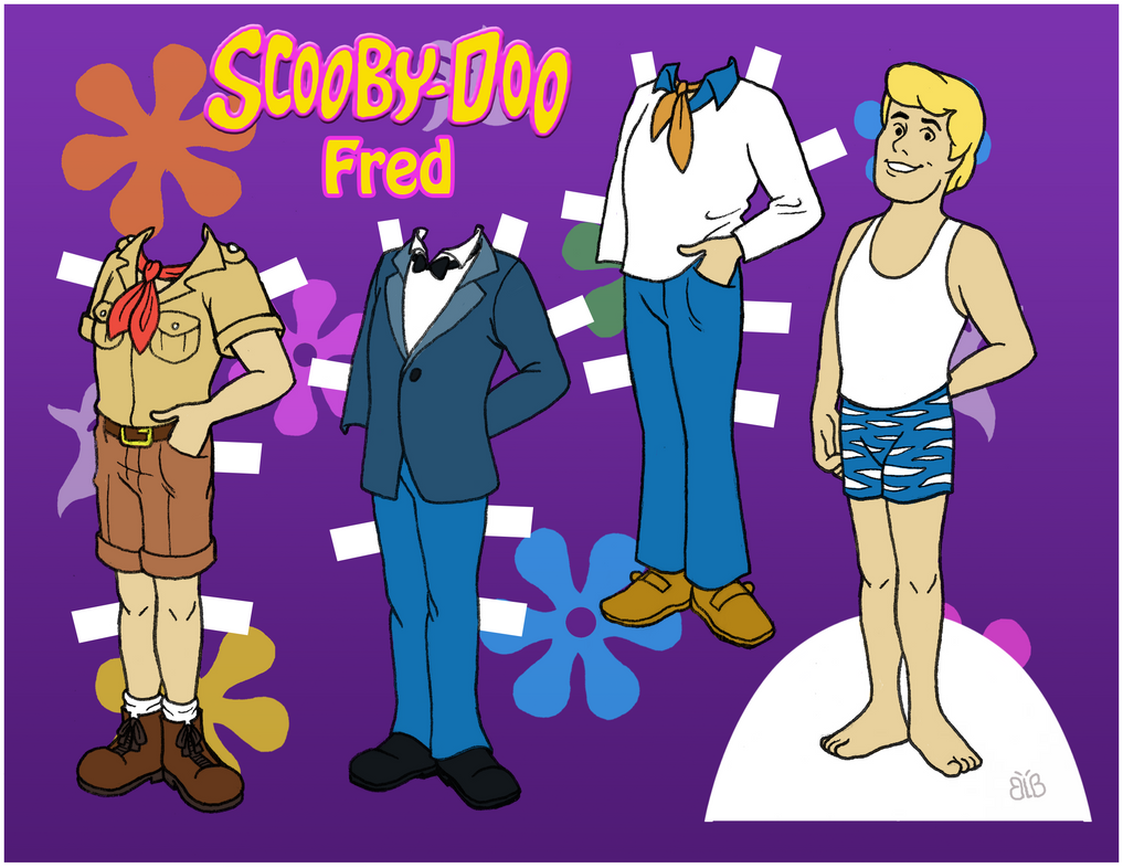 Scooby-Doo dolls - Fred by EternallyOptimistic