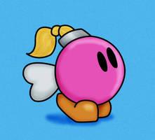 Paper Mario: Bombette by EternallyOptimistic