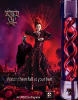 Resident Evil T-Virus Perfume - Ad