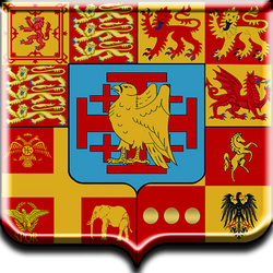 Hawk Coat of Arms Shield