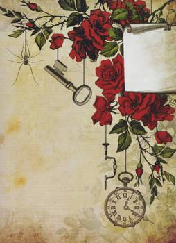 Flowers Key Clock