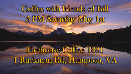 coffee with friends of Bill