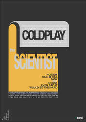 Coldplay Typography