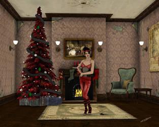 Happy Goth Holidays by NellWilliams
