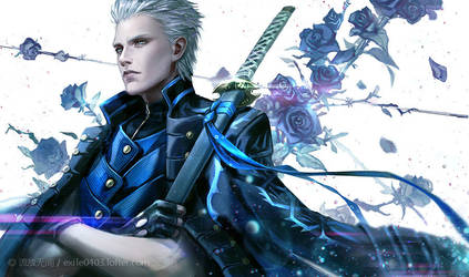 DMC5 Vergil by exiletohell