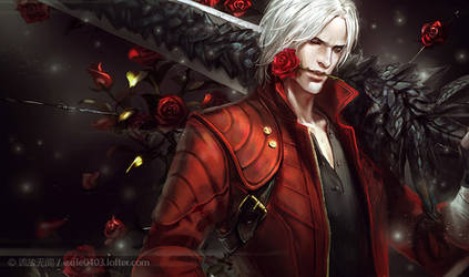 DMC5 Dante by exiletohell