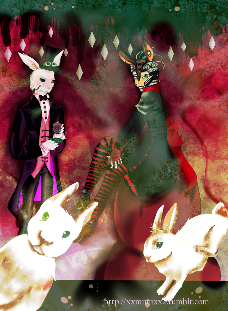 SPG Rabbit with Rabbit Servants by XxmimixX2