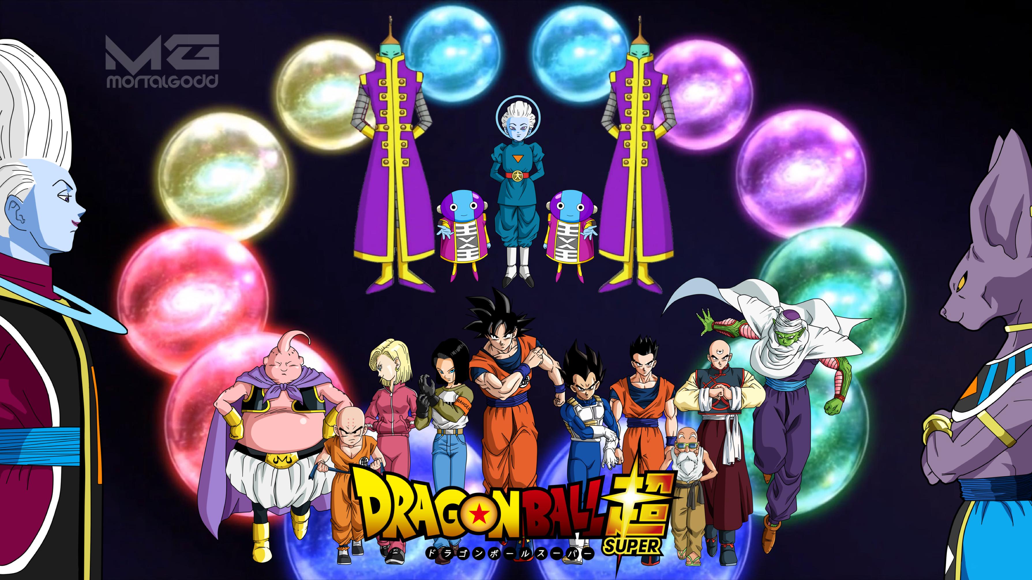 Dragon Ball Super Universe Survival Arc Wallpaper By Mortalgodd On