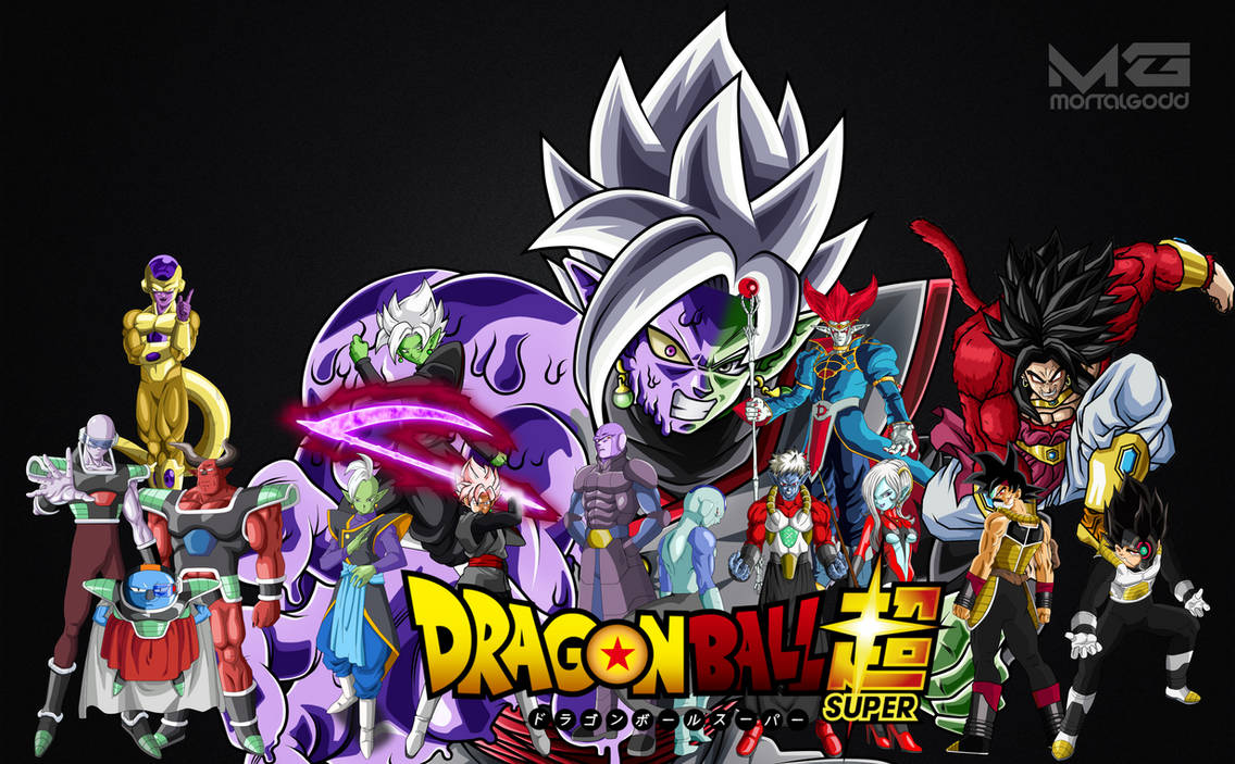 Dragon Ball Superheroes Villains 2016 Wallpaper By