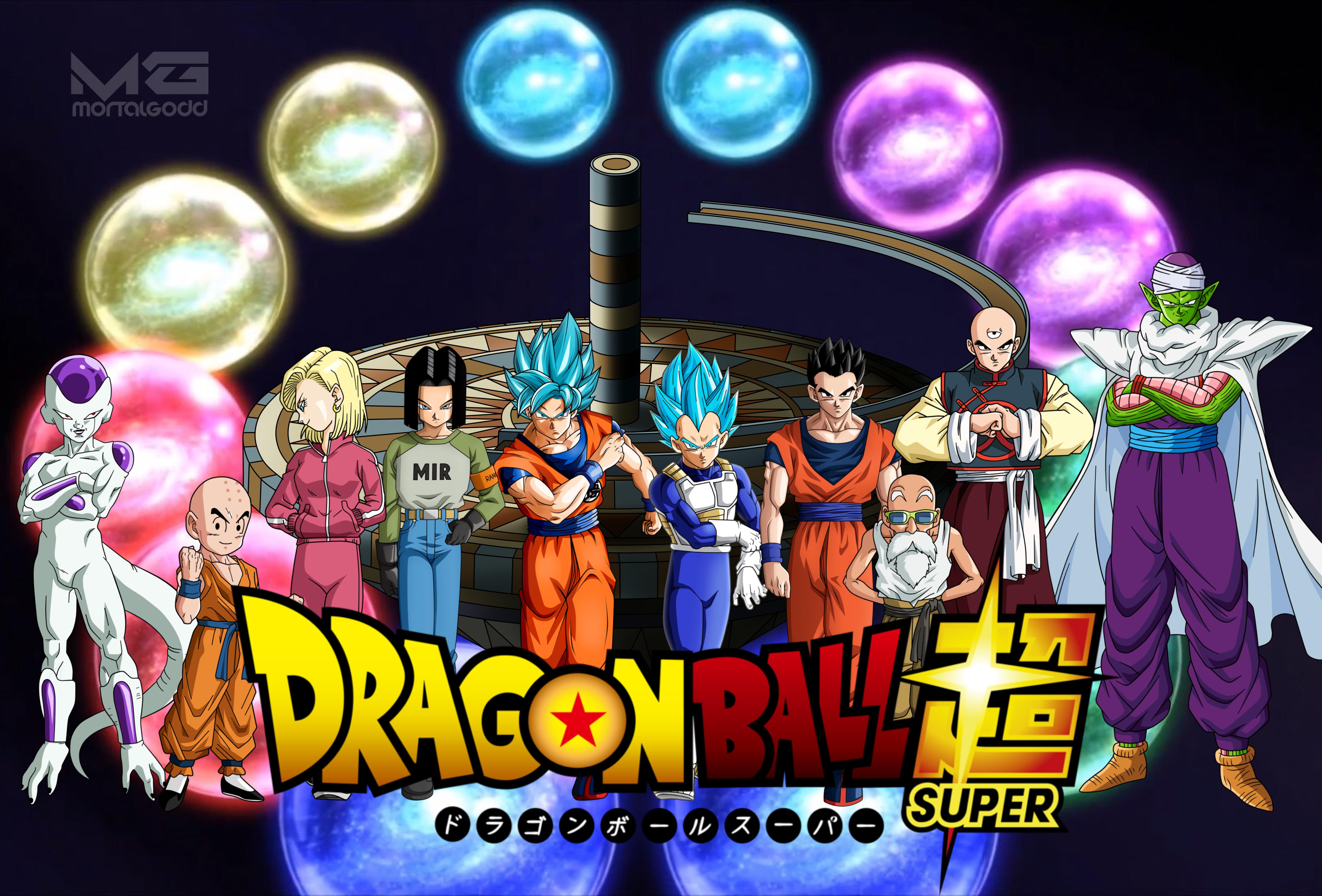 Dragon Ball Super Universe 7 New Team Wallpaper By Mortalgodd On