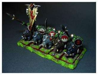 Orc Boar Boyz by DorianM