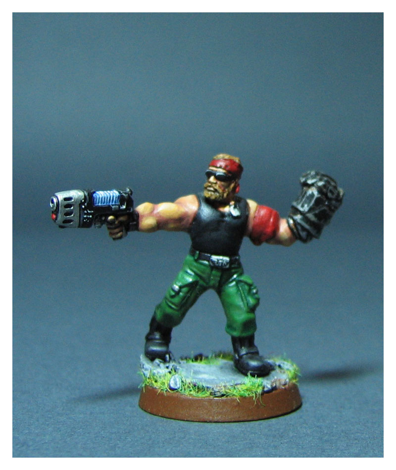 Ranger Sgt. Norris by DorianM