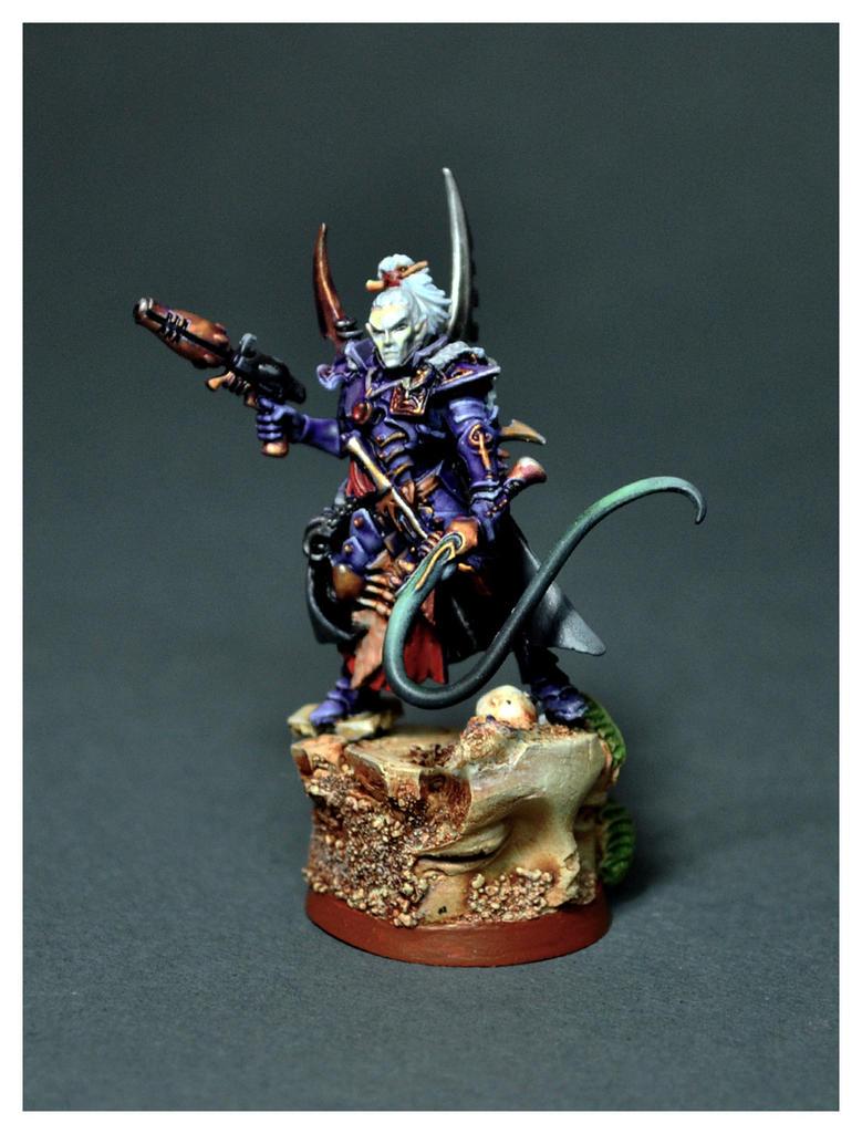 Dark Eldar Archon by DorianM
