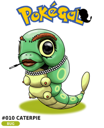 010 Caterpie by bunny75
