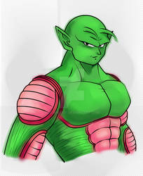 Shirtless Piccolo