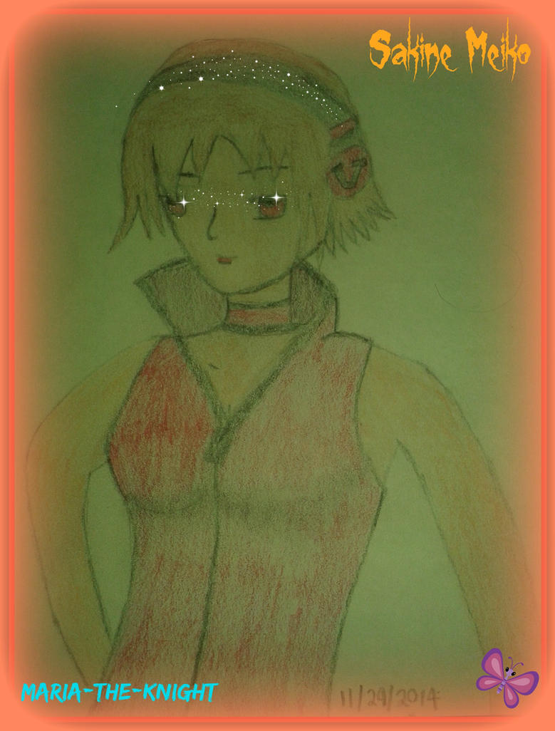 Sakine Meiko by Princ3ssWolfi3