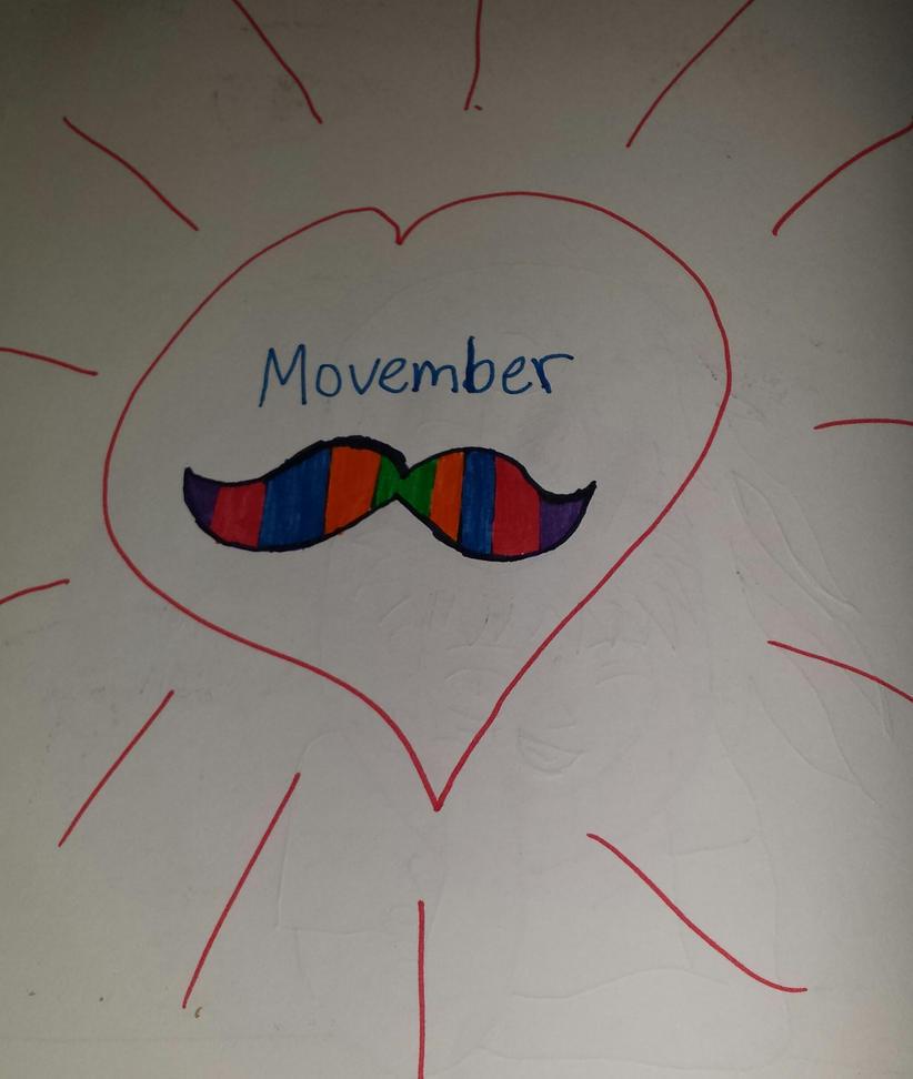 Movember by Princ3ssWolfi3