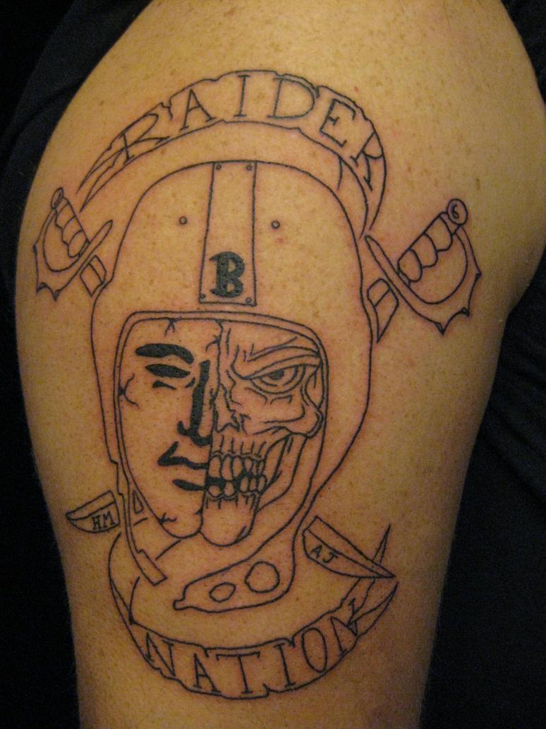 Raider nation 1 by iz4nidomp4in on deviantart for Raider nation tattoos