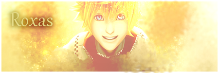 KH - Roxas Signature by KeyCrystal