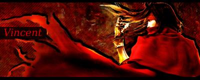 FF7 - Vincent Valentine Signature by KeyCrystal
