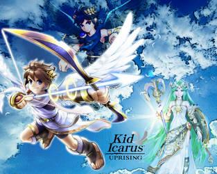 Kid Icarus Uprising Wallpaper by KeyCrystal