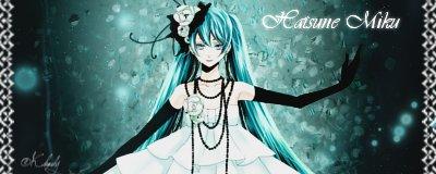 Hatsune Miku - Signature (Black Edition) by KeyCrystal