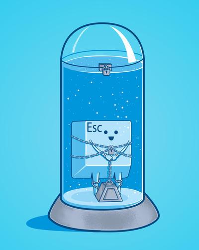 The Escape Artist by fathi-dhia