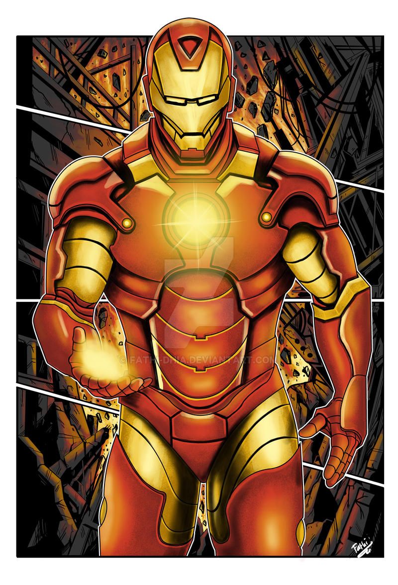 Iron Man by fathi-dhia
