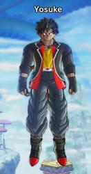 Dragon Ball OC/FC/CAC: Yosuke by dragonsouloverlord5