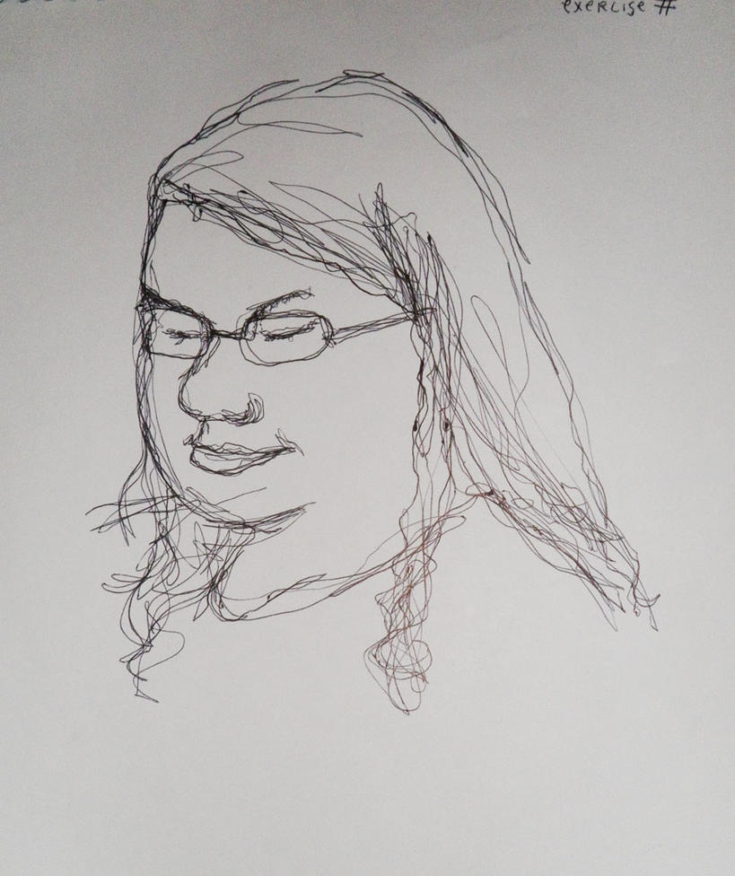 One Line Art Facepalm : One line drawing by iamjoanna on deviantart