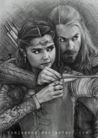 Clara and Robin by iamjoanna